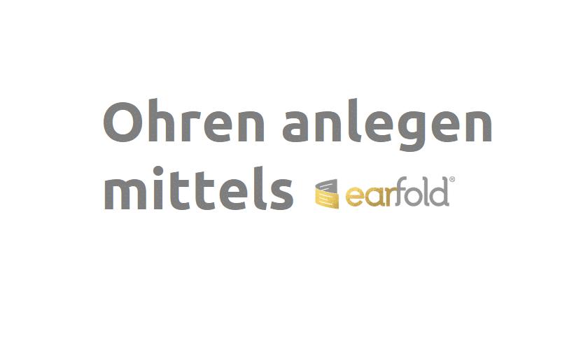 earfold methode ohren anlegen otoplastik