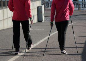 Nordic Walking Vorteile Technik