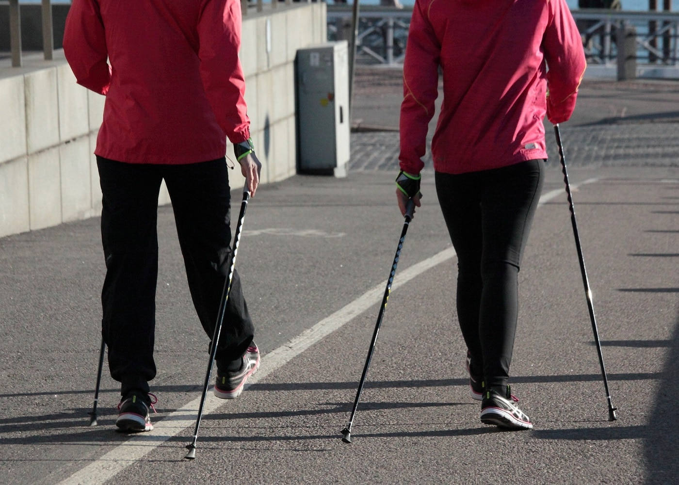 Nordic Walking Vorteile Technik