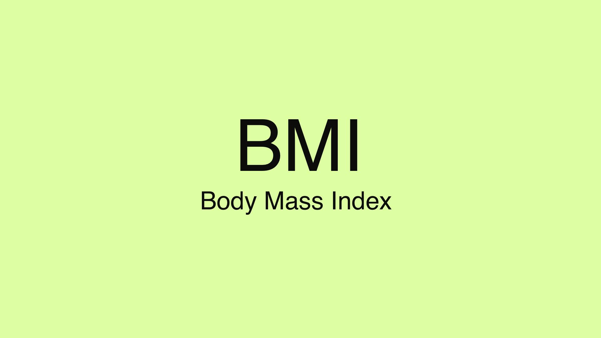 BMI: Die Wahrheit über den Body Mass Index