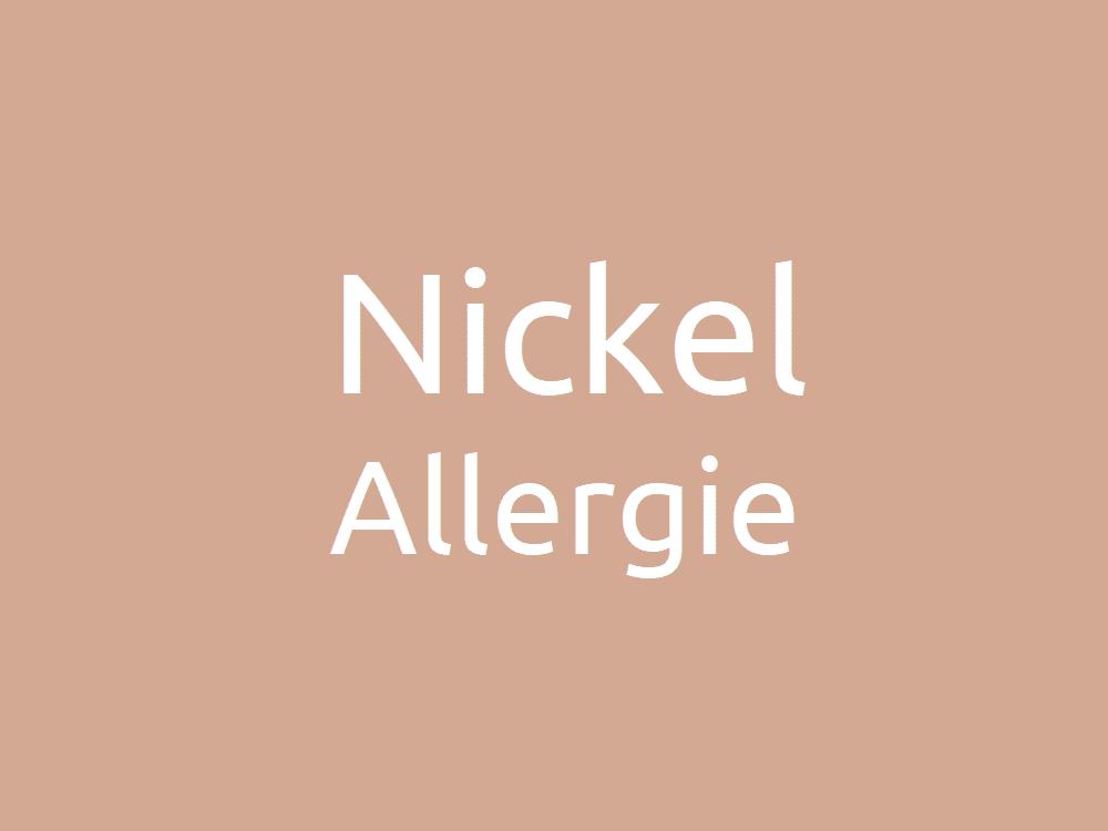 Nickelallergie - Symptome, Auslöser und Therapie