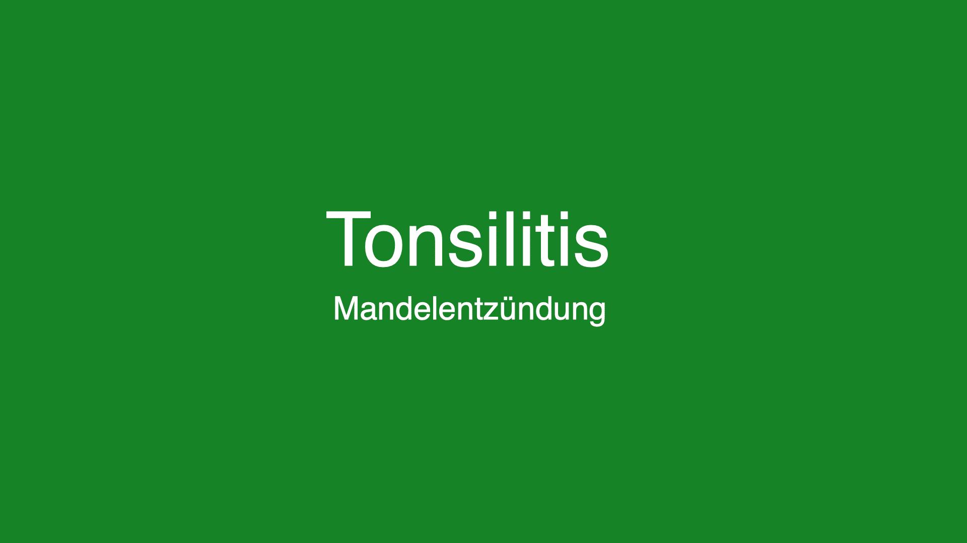 Mandelentzündung - Ursachen, Symptome und Behandlung von Tonsilitis