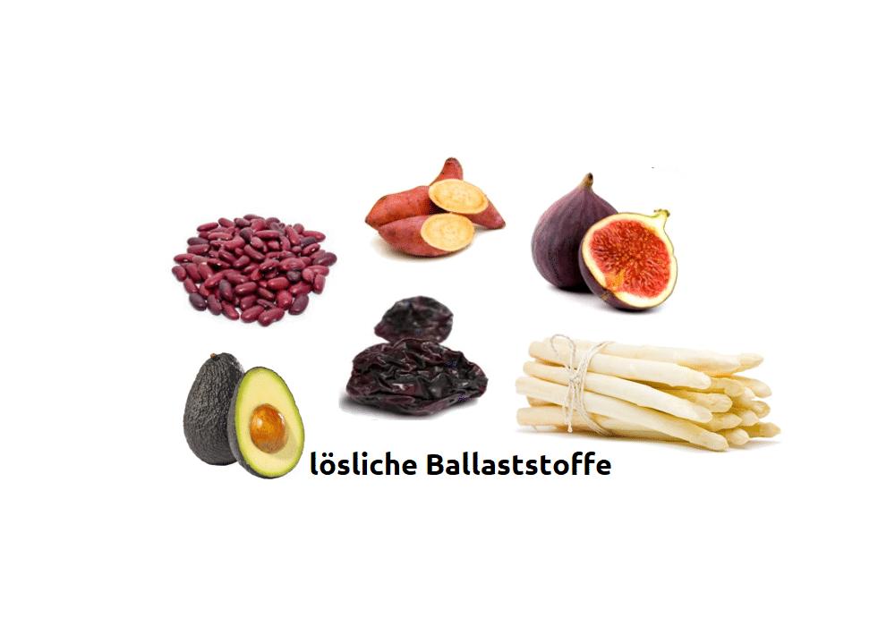 Lösliche Ballaststoffe - Wirkung, Nahrungsmittel und Vorteile