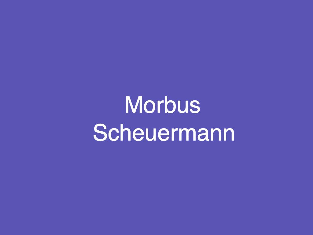 Was ist die Scheuermann-Krankheit?