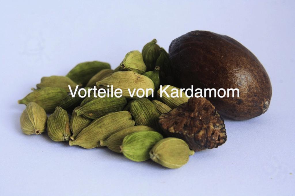 7 Vorteile von Kardamom