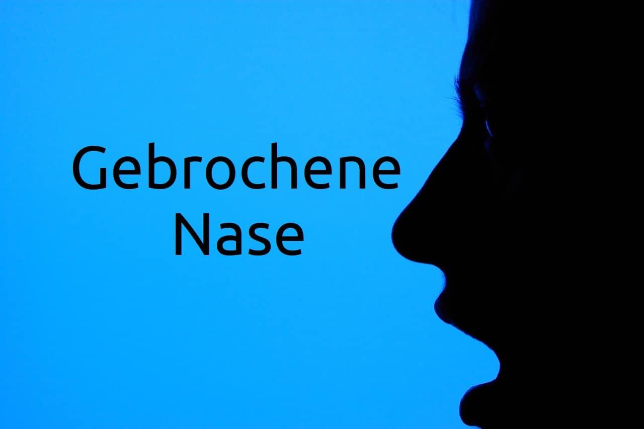 Gebrochene Nase Diagnose Symptome Ursachen Behandlung