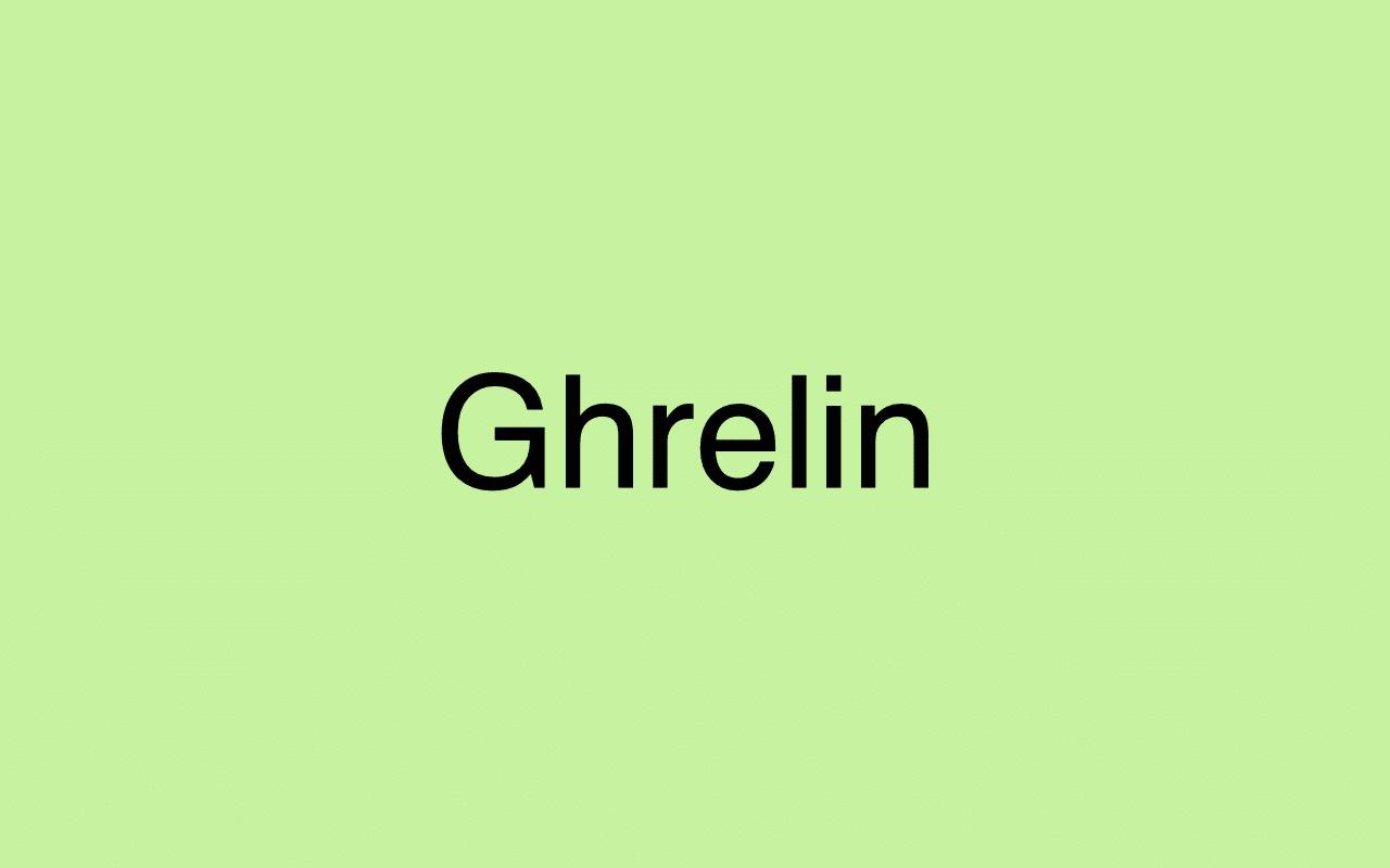 Ghrelin - Das Hungerhormon erklärt